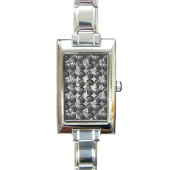Metal Circle Background Ring Rectangle Italian Charm Watch