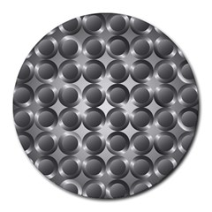 Metal Circle Background Ring Round Mousepads