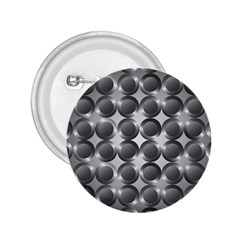 Metal Circle Background Ring 2.25  Buttons