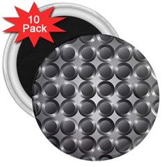 Metal Circle Background Ring 3  Magnets (10 pack)