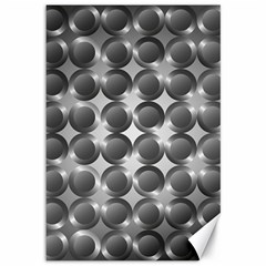Metal Circle Background Ring Canvas 12  x 18