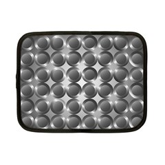 Metal Circle Background Ring Netbook Case (small)