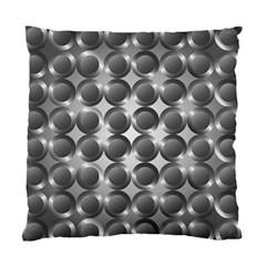 Metal Circle Background Ring Standard Cushion Case (two Sides)