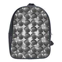 Metal Circle Background Ring School Bags(large)