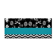 Flowers Turquoise Pattern Floral Cosmetic Storage Cases