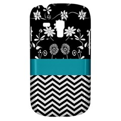 Flowers Turquoise Pattern Floral Galaxy S3 Mini