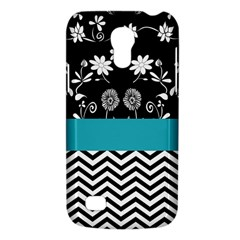 Flowers Turquoise Pattern Floral Galaxy S4 Mini