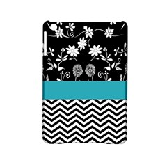 Flowers Turquoise Pattern Floral iPad Mini 2 Hardshell Cases