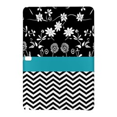 Flowers Turquoise Pattern Floral Samsung Galaxy Tab Pro 10.1 Hardshell Case