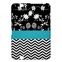Flowers Turquoise Pattern Floral Kindle Fire Hd 8 9