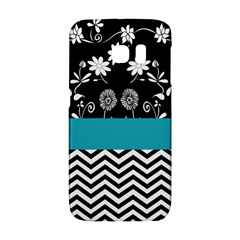 Flowers Turquoise Pattern Floral Galaxy S6 Edge