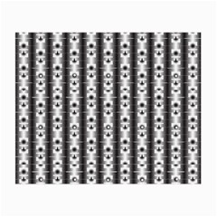 Pattern Background Texture Black Small Glasses Cloth (2 Side)