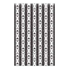 Pattern Background Texture Black Shower Curtain 48  X 72  (small)