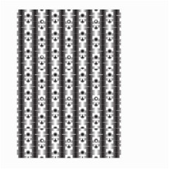 Pattern Background Texture Black Large Garden Flag (two Sides)