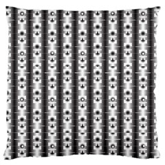 Pattern Background Texture Black Large Cushion Case (two Sides)