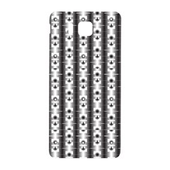 Pattern Background Texture Black Samsung Galaxy Alpha Hardshell Back Case