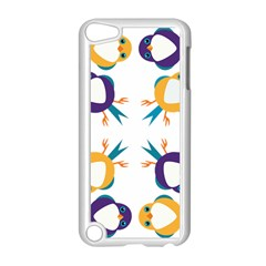 Pattern Circular Birds Apple iPod Touch 5 Case (White)