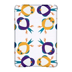 Pattern Circular Birds Apple Ipad Mini Hardshell Case (compatible With Smart Cover)