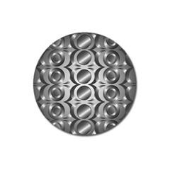 Metal Circle Background Ring Magnet 3  (round)