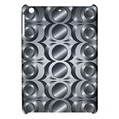 Metal Circle Background Ring Apple iPad Mini Hardshell Case