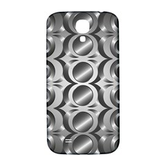 Metal Circle Background Ring Samsung Galaxy S4 I9500/i9505  Hardshell Back Case