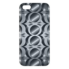 Metal Circle Background Ring iPhone 5S/ SE Premium Hardshell Case