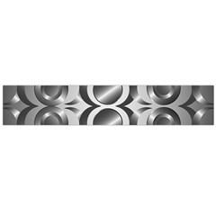 Metal Circle Background Ring Flano Scarf (large)
