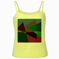 Abstract #415 Tipping Point Yellow Spaghetti Tank