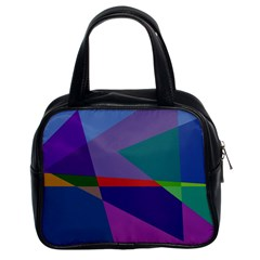 Abstract #415 Tipping Point Classic Handbags (2 Sides)