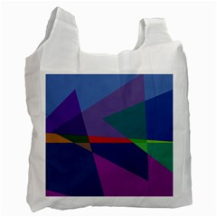 Abstract #415 Tipping Point Recycle Bag (One Side)