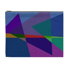 Abstract #415 Tipping Point Cosmetic Bag (XL)