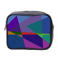 Abstract #415 Tipping Point Mini Toiletries Bag 2-Side