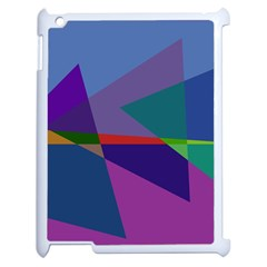 Abstract #415 Tipping Point Apple iPad 2 Case (White)