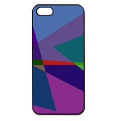 Abstract #415 Tipping Point Apple iPhone 5 Seamless Case (Black)
