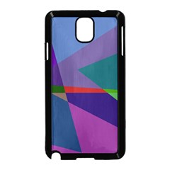 Abstract #415 Tipping Point Samsung Galaxy Note 3 Neo Hardshell Case (Black)