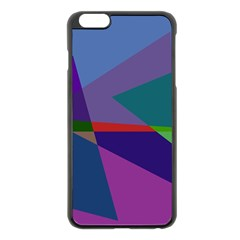 Abstract #415 Tipping Point Apple iPhone 6 Plus/6S Plus Black Enamel Case