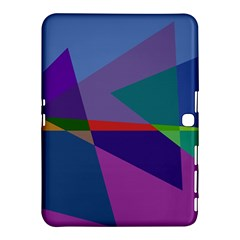 Abstract #415 Tipping Point Samsung Galaxy Tab 4 (10.1 ) Hardshell Case
