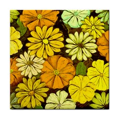 Abstract #417 Tile Coasters