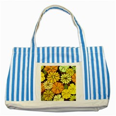 Abstract #417 Striped Blue Tote Bag