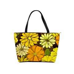 Abstract #417 Shoulder Handbags
