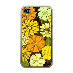 Abstract #417 Apple iPhone 4 Case (Clear)
