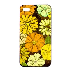 Abstract #417 Apple iPhone 4/4s Seamless Case (Black)