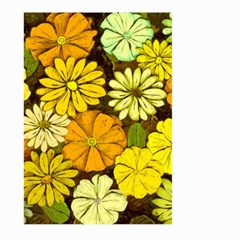 Abstract #417 Large Garden Flag (Two Sides)