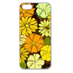 Abstract #417 Apple Seamless iPhone 5 Case (Clear)