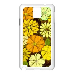 Abstract #417 Samsung Galaxy Note 3 N9005 Case (White)