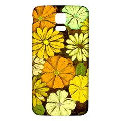 Abstract #417 Samsung Galaxy S5 Back Case (White)
