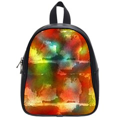 Peeled wall                         School Bag (Small)