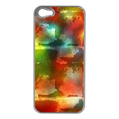 Peeled wall                   Apple iPhone 5 Case (Silver)