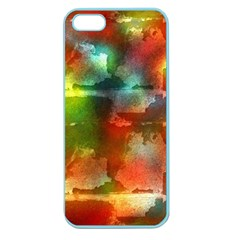 Peeled wall                   Apple Seamless iPhone 5 Case (Clear)
