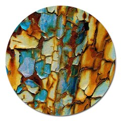 Rusty texture                         Magnet 5  (Round)